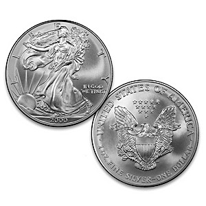 The First-Ever 2000 Silver Eagle Dollar From West Point Mint