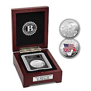 The 75th Anniversary of Victory in WWII 1 Oz. Silver Proof