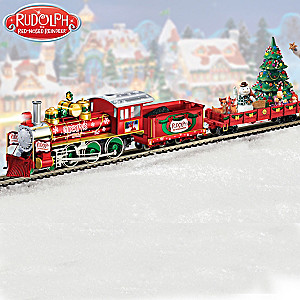 The Rudolph the Red-Nosed Reindeer Train Collection