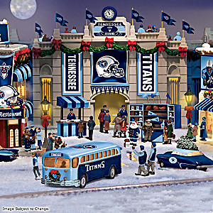 Tennessee Titans Football Christmas Village Collection