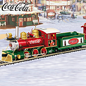 """COCA-COLA Holiday Express"" Train Collection"