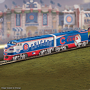 Cubs World Series Champions Electric Train Collection