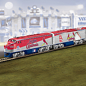 World Series Champions St. Louis Cardinals Train Collection