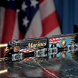 "HO-Scale ""USMC Express"" Electric Train Collection"