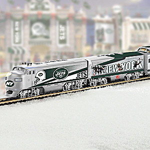 """New York Jets Express"" Illuminated Train Collection"