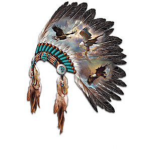 Native American Inspired Eagle Art Wall Decor Collection
