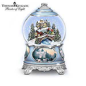 Illuminated Thomas Kinkade Snowglobe Collection