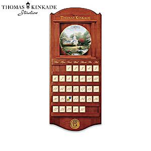 "Thomas Kinkade ""Simpler Times"" Perpetual Calendar"