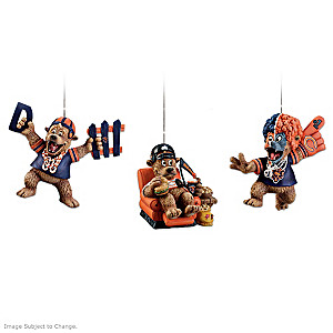 "Chicago Bears ""Grreatest Fans"" Ornament Collection"