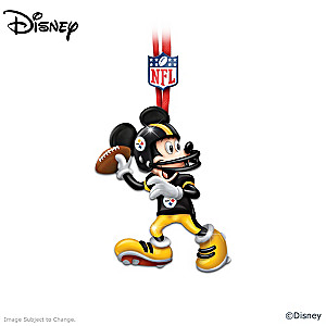 Pittsburgh Steelers Disney Character Ornament Collection
