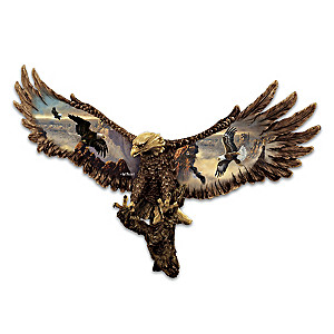 "Ted Blaylock ""Majestic Summits"" Eagle Wall Decor Collection"