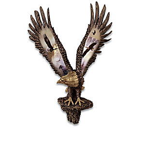 Ted Blaylock Cold-Cast Bronze Eagle Wall Decor Collection
