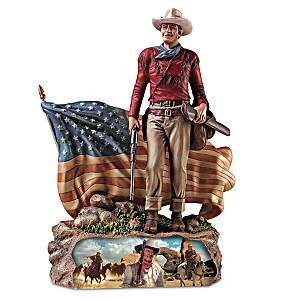 John Wayne American Hero Patriotic Sculptures