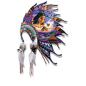 "Robin Koni ""Butterfly Dreams"" Headdress Wall Sculptures"