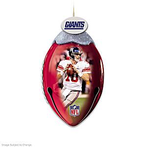 New York Giants Football Christmas Ornaments