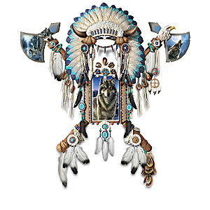 "James Meger ""Valiant Spirit"" Wolf Art Wall Decor Collection"