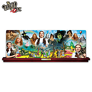 """THE WIZARD OF OZ"" Panorama Porcelain Plate Collection"