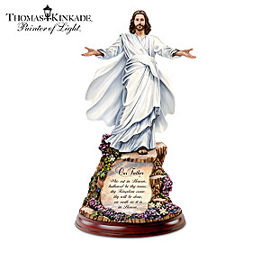 Thomas Kinkade Illuminated Jesus Sculpture Collection