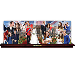 Royal Family Panorama Collector Plates Honor Milestones