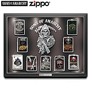 Sons Of Anarchy™ Zippo® Collection With Display