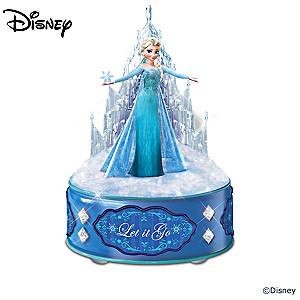 Disney FROZEN Illuminated Music Box Collection