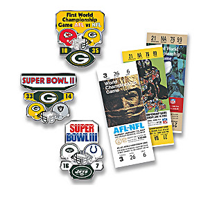 Super Bowl Pins With Display And Game Day Inspired-Tickets