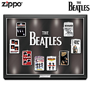 The Beatles Zippo® Lighter Collection And Custom Display