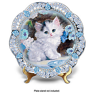 """Purr-fect Jewels"" Collector Plate Collection"