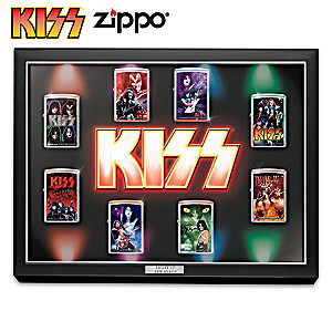 KISS™ Zippo® Lighter Collection With Display