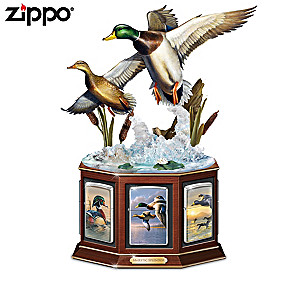 Hautman Brothers Duck Art Zippo® Collection And Display