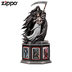 Anne Stokes Art Zippo® Lighters With Custom Display