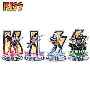 "KISS ""Destroyer"" Illuminated Figurine Collection"
