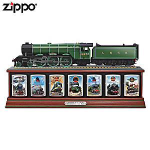 Flying Scotsman Zippo® Lighter Collection With Display