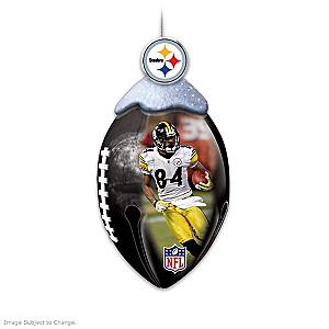 NFL Licensed Pittsburgh Steelers Jingle Bell Ornaments