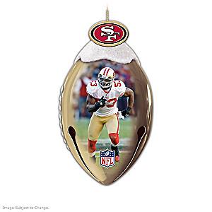 NFL Licensed San Francisco 49ers Jingle Bell Ornaments