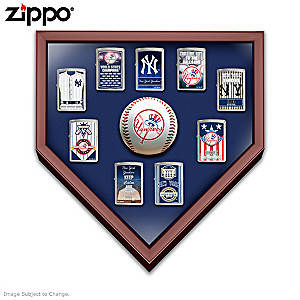 New York Yankees™ Zippo® Lighters With Display