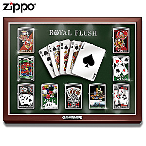The Ultimate Poker Zippo® Collection With Display