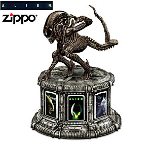 Alien® Zippo® Collection With Illuminated Display