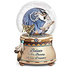 Robin Koni Native American-Inspired Glitter Globe Collection