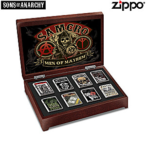 Sons Of Anarchy™ Men Of Mayhem Zippo® Collection