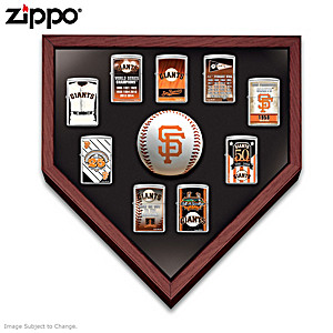 San Francisco Giants™ Zippo® Lighters With Display