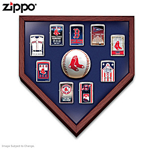 Boston Red Sox™ Zippo® Lighters With Display
