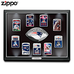 NFL New England Patriots Super Bowl LI Zippo® Lighters