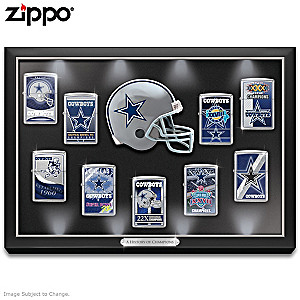 Dallas Cowboys Zippo® Collection With Display