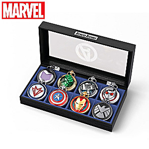 MARVEL AVENGERS Pocket Watch Collection With Custom Case