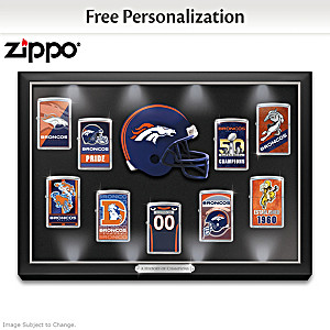 Broncos Personalized Zippo® Lighter Collection