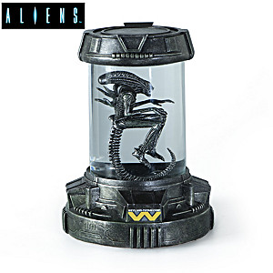 Aliens Illuminated Containment Capsule Sculpture Collection