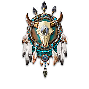 James Meger Wolf Art Dreamcatcher Wall Decor Collection