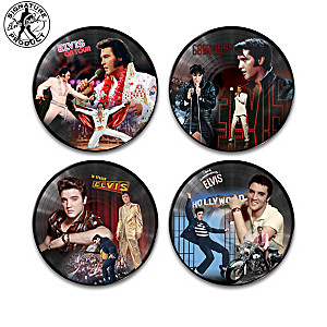 "Elvis Presley ""Vinyl Revolution"" Wall Decor Collection"
