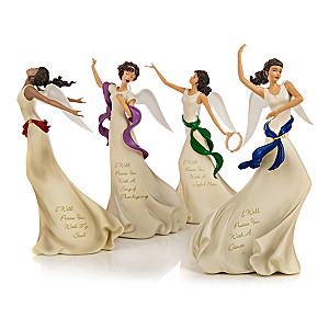 """Angels Of Praise"" Limited-Edition Figurine Collection"
